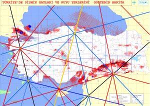 Türkiye Sismik Bölgelerinin Ley Hatlarıyla İlişkisi